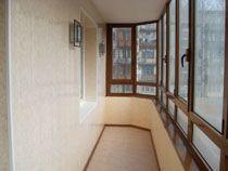 Ремонт балкона в Барнауле. Ремонт лоджии