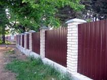 Строительство заборов, ограждений в Барнауле и пригороде, строительство заборов, ограждений под ключ г.Барнаул